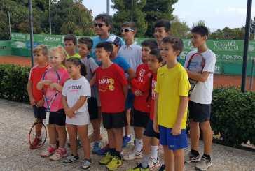 Prima amichevole tra il Circolo Tennis Vasto e la Tennis Training School di Foligno