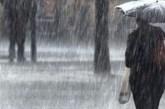 Pioggia, grandine e forti raffiche di vento: emesso l'avviso di condizioni meteorologiche avverse
