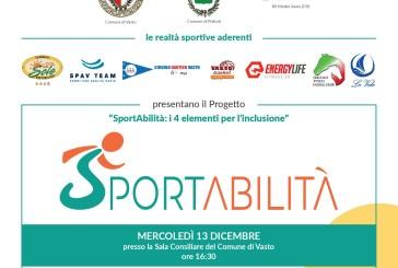 """""""SportAbilità: i 4 elementi per l'inclusione"""", oggi la presentazione del progetto"""