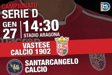 Vastese Calcio, prezzi ribassati per la sfida col Santarcangelo