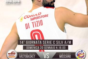 Vasto Basket-Mosciano, semplicemente big match