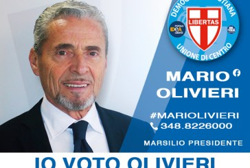 Mario Olivieri apre la sede elettorale