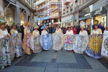 Sanremo, successo per gli abiti storici abruzzesi