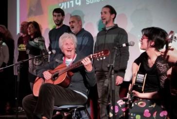La cantautrice sansalvese Lara Molino si esibisce con Giovanna Marini