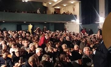 Vasto, un bagno di folla per Giovanni Legnini