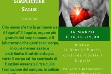 """""""Pronti per la primavera? Detossificazione e fegato grasso"""", il secondo incontro del progetto """"Simpliciter Salus"""""""