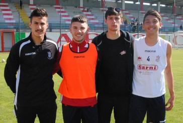 Quattro giovani biancorossi in lizza per la rappresentativa del girone F alla Juniores Cup