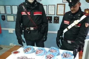 Con otto kg di hashish nell'auto, i carabinieri arrestano tre marocchini