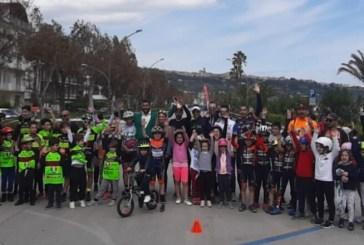 Vasto aspetta il giro d'Italia con tanti bambini in bici