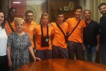 Erasmus plus, a Palazo di Città i cinque ragazzi spagnoli