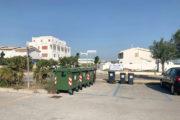 Foto bidoni per rifiuti