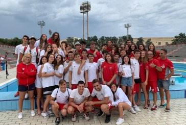 L'H2O Sport fa il pieno di medaglie ai Campionati Regionali di Nuoto