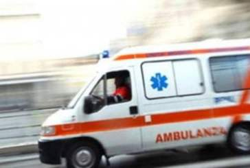 Vasto, scontro auto scooter in corso Garibaldi. Due i feriti