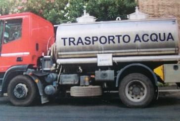 Fabbisogno idrico, a Montenero arriva l'autobotte