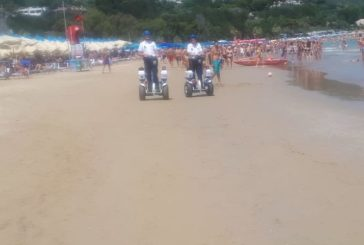 Vasto Marina, in azione sulle spiaggia le due bighe elettriche
