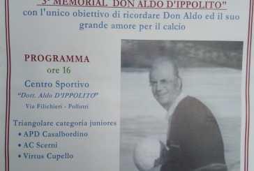 A Pollutri il 3° Memorial Don Aldo D'Ippolito