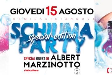 Albert Marzinotto e Schiuma Party per il Ferragosto al Baja Village