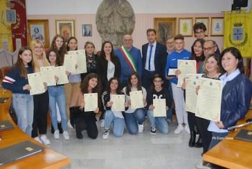A Casalbordino la cerimonia di premiazione degli studenti meritevoli