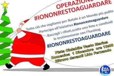 Operazione #iononrestoaguardare, un'iniziativa per un