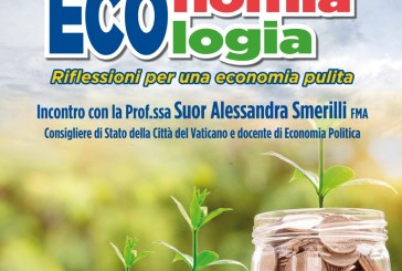 """Al Palizzi di Vasto l'incontro """"ECOlogia/ECOnomia – Riflessioni per una Economia pulita"""""""