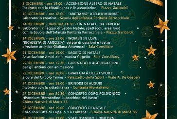 Cupello, ecco il calendario delle festività del Natale