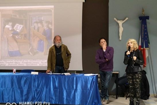 Preside Anna Orsatti, Prof. Franco Valente, Prof.Pietro Lalla