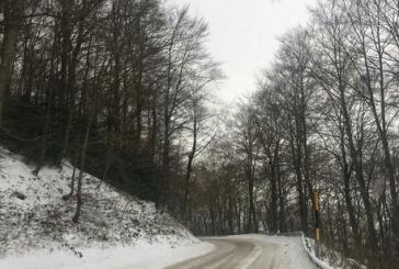 Neve sopra i 600 metri, emesso l'avviso di condizioni meteorologiche avverse