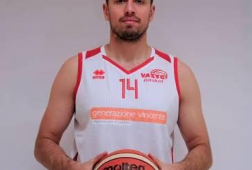 Paul Lukasz Marcin non è più un giocatore della Vasto Basket