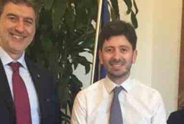 Riorganizzazione del sistema sanitario abruzzese, Marsilio e la Verì a Roma dal Ministro Speranza
