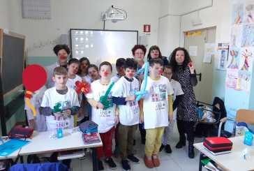 A scuola di volontariato nella Spataro Ic1 di Vasto, la quarta D conosce la clownterapia della Ricoclaun