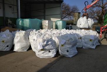 A Pollutri la raccolta di contenitori di fitofarmaci