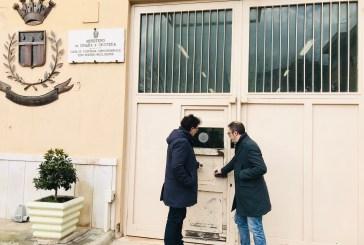 """Blasioli e Giampietrovisitano il carcere di Pescara: """"La struttura e il personale sono in sofferenza"""