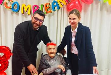 Maria Bottari compie 108 anni, è la più anziana di Vasto