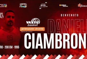 Daniele Ciambrone è un nuovo giocatore della Vasto Basket
