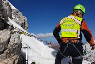 Alpinisti in difficoltà sul Corno Piccolo del Gran Sasso, allertati i soccorsi
