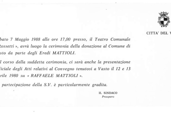 Donazione Palazzo Mattioli_19880507_01_invito