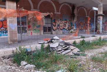 La stazione di piazza Fiume tra abbandono e incuria