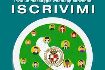 A Vasto da oggi le informazioni e le comunicazione ai cittadini arrivano su Whatsapp