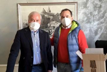 Montenero, la GTM dona 1.000 mascherine al Comune. Travaglini: