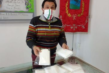 Calzedonia dona 500 mascherine al Comune di Pollutri