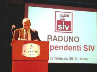 E' venuto a mancare Aldo Pellissoni, l'ex capo del Personale della SIV