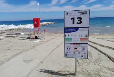 A Casalbordino posizionata la segnaletica sulle spiagge libere con le regole anti-Covid