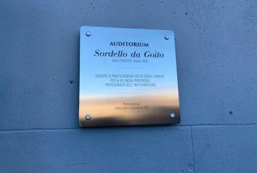 Intitolazione della Sala Museale a Sordello da Goito a Monteodorisio, il
