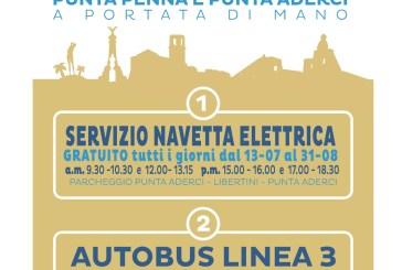 Mobilità in Riserva, da lunedì è attivo il servizio navetta elettrica