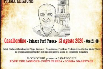 A Casalbordino, la prima edizione del concorso di poesia in ricordo di Gino De Sanctis