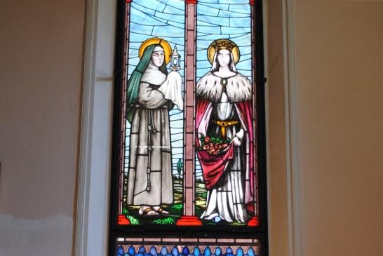 santa chiara e santa elisabetta
