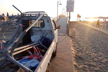 Dopo l'atto vandalico riapre il Pontile a Vasto Marina. Ripristinata la balaustra divelta