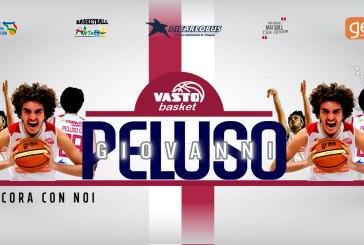 Giovanni Peluso sarà ancora un giocatore della Vasto Basket