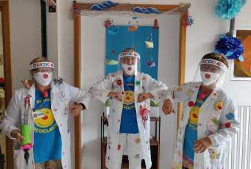 Ricomincia la Clownterapia Ricoclaun, tanta allegria alla Casa di Riposo Madonna dell'Asilo