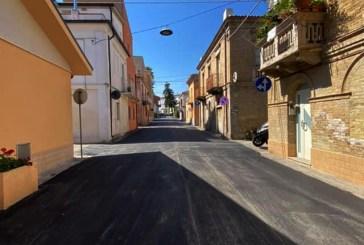Casalbordino, continuano i lavori di rifacimento delle vie comunali